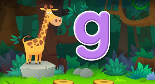 screenshot from Animal Alphabet activities