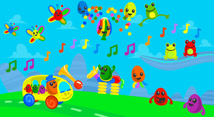 screenshot from The Eggles activities