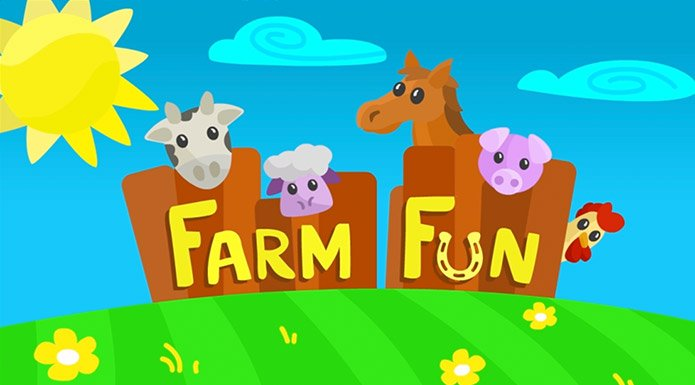 screenshot from Farm Fun video