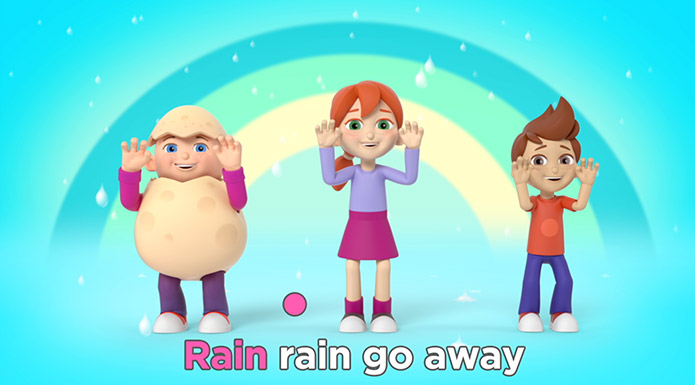 screenshot from Reggie Sing Along Karaoke video