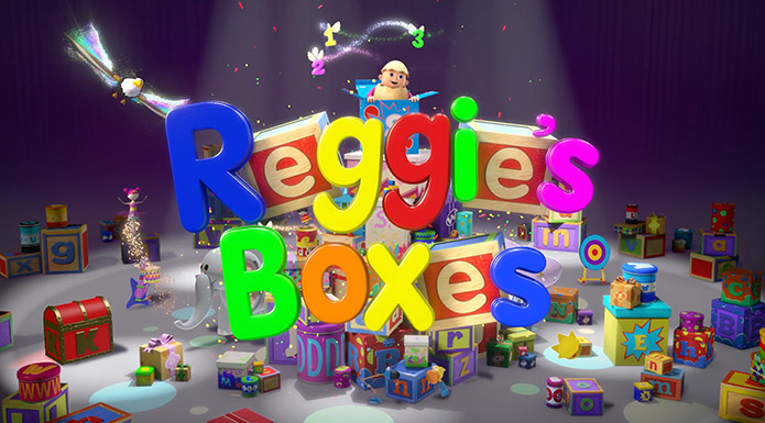 screenshot from Reggie's Boxes video