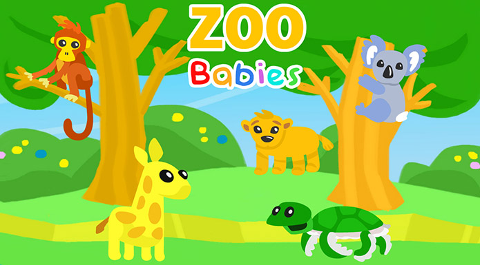 screenshot from Zoo Babies video